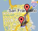 Bike Route through San Francisco